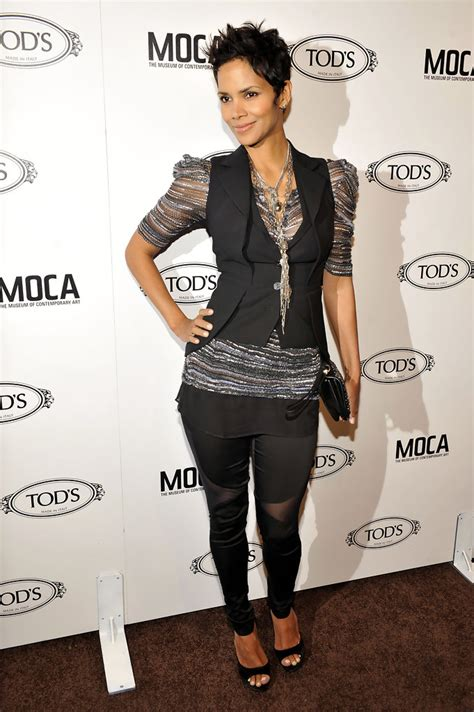 Style Halle Berry by Halle Berry Vest Halle Berry Outerwear Looks Stylebistro