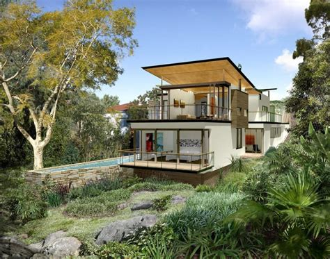 houses built on slopes houses built on sloping land house plan 2017