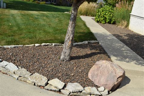 Decorative Landscape Rock by Large Haydite Rock Indianapolis Decorative Rock Mccarty