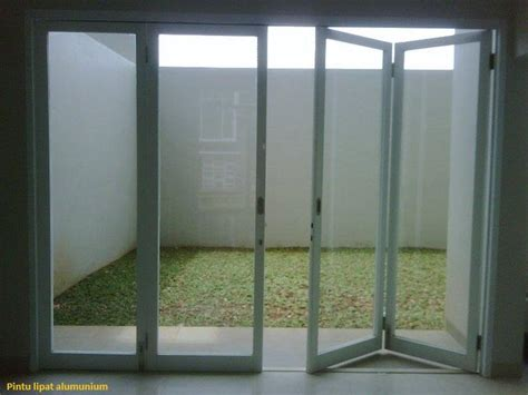Jual Pisau Lipat Keramik jual pintu lipat kaca frameless harga murah jakarta oleh