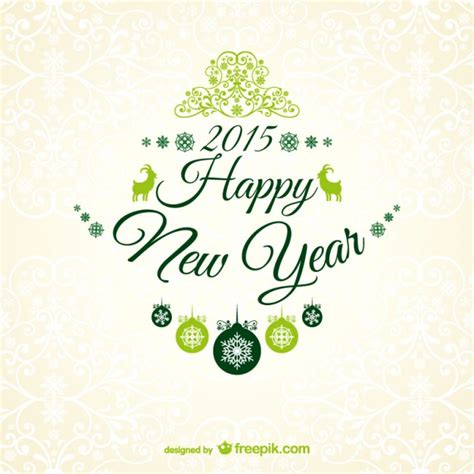 new year wishes vector new year greetings card vector free