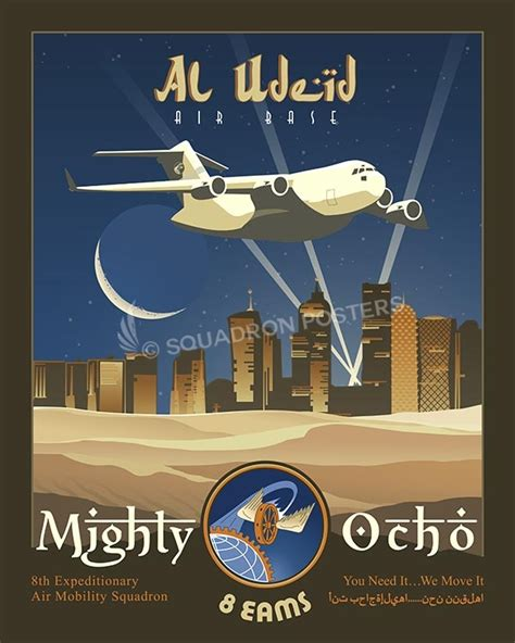 Eams Search Al Udeid 8th Eams C 17 Squadron Posters