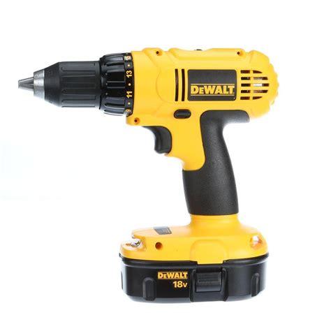 dewalt 18 volt nicd cordless 1 2 in compact drill driver