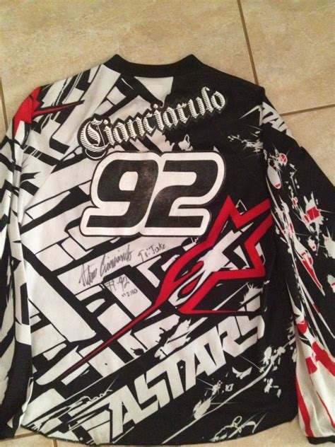 signed motocross jerseys signed motocross jerseys for sale for sale bazaar