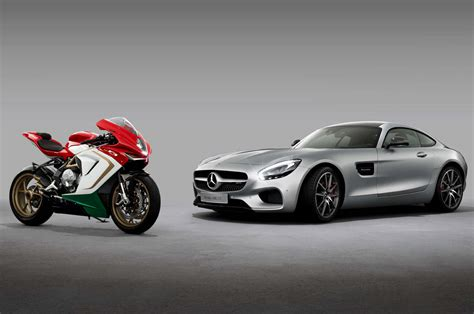 mercedes motorcycle mercedes amg and mv agusta sign contract concerning