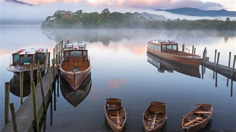 boats derwentwater bing wallpaper