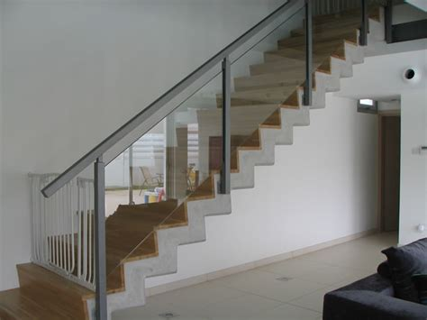 contemporary banister modern stair banisters technometaliki