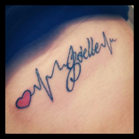 tattoo in honor of joelle and chd awareness using jo s