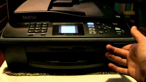 resetting brother printer to factory defaults brother mfc j410w printer review youtube