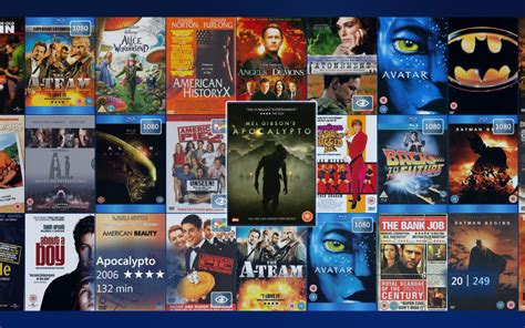 film it all my movies windows media center