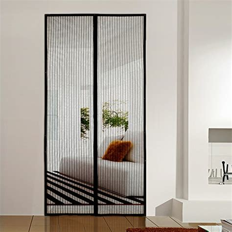 magnetic screen curtain homitt magnetic screen door with heavy duty mesh curtain