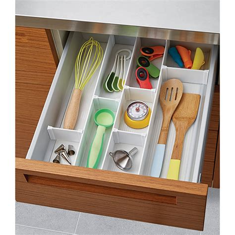 Custom Drawer Dividers by Custom Drawer Organizer Strips Kitchen Drawers Magic
