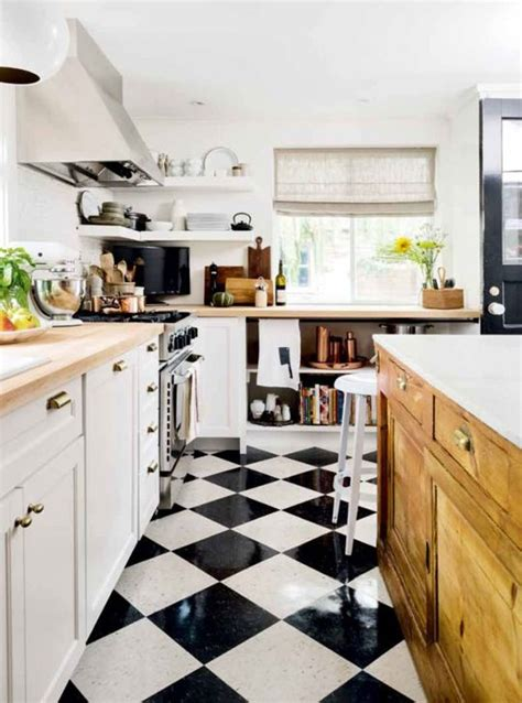 69 best black and white kitchens images on pinterest