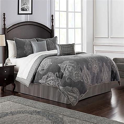waterford king comforter set buy waterford 174 ryan reversible king comforter set in
