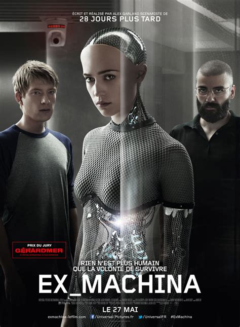 la machina ex machina 2015 movie poster 5 scifi movies
