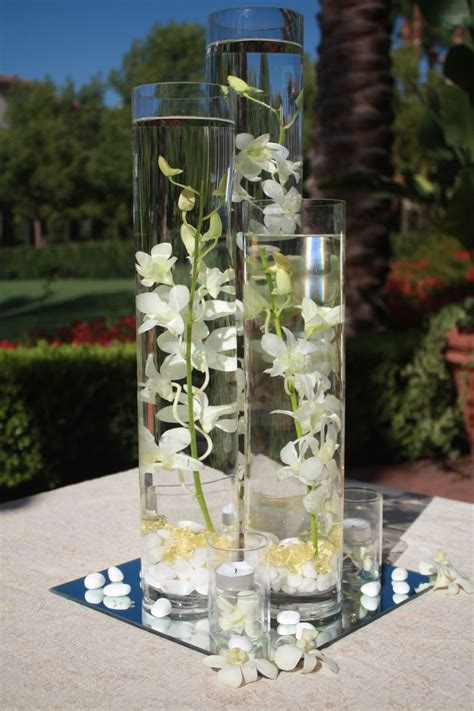 Vases With Floating Candles And Flowers by 17 Best Images About Diy Flower Centerpiece Ideas Used