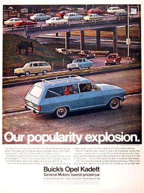 buick opel wagon 1967 buick opel kadett wagon classic vintage print ad