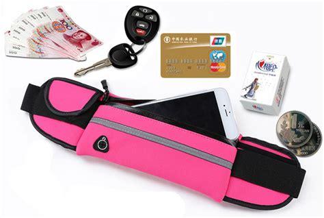 Ikat Pinggang Olahraga Waterproof Dengan Slot Smartphone 5 5 Inch tas pinggang olahraga multifuction belt water resistant sports black jakartanotebook