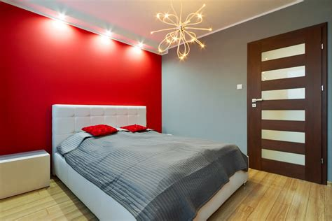 Gray And Red Bedroom » Home Design 2017