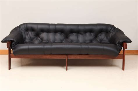 lafer sofa percival lafer sofa mp 211 wood leather two seater sofa by