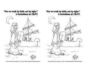 Obedience to god coloring bible coloring pages fearfully and