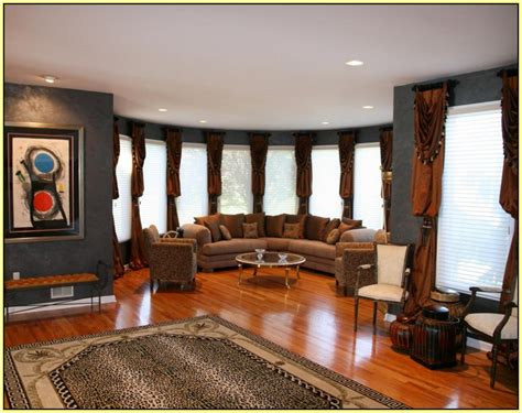 Living Room With Leopard Rug Leopard Print Rug Living Room Home Design Ideas