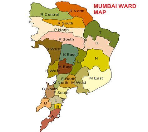 MUMBAI WARD MAP Map