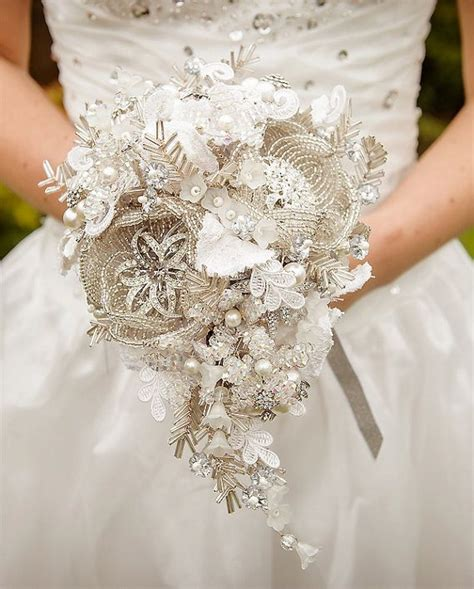 Wedding Bouquet Order by Mc Custom Made To Order Wedding Bouquet Broche Ramo De
