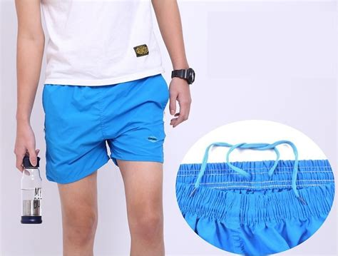 Celana Pantai Santai Pria Anti Uv Size Navy Blue celana pantai santai pria anti uv size l blue