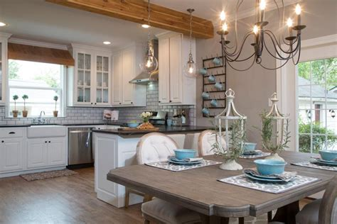 kitchen design shows kitchen makeover ideas from fixer hgtv s fixer