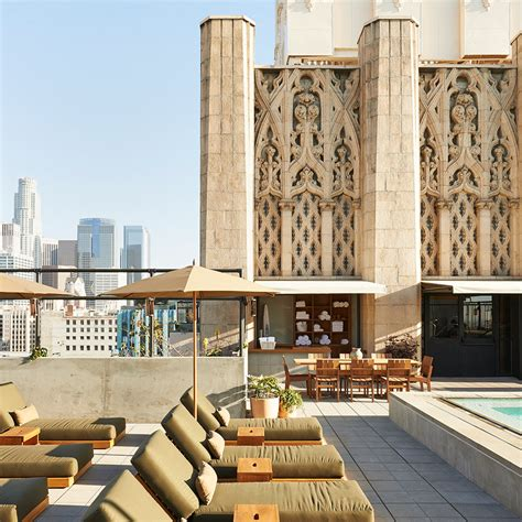 top rooftop bars in los angeles best rooftop bars in los angeles travel leisure