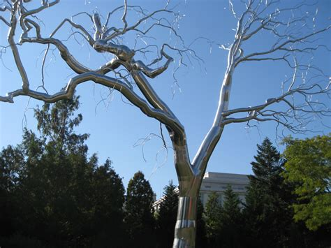 graft tree sculpture by roxy paine is inspiring symbol for the new year arts observer