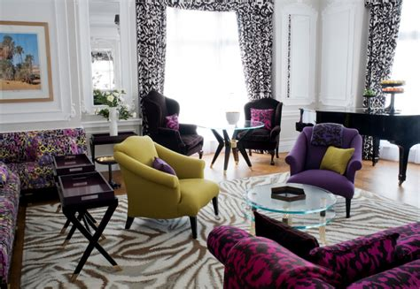 Living Room With Purple Sofa Modeern Living Room With Living Room With Purple Sofa