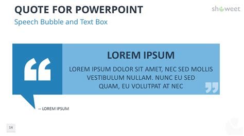 Powerpoint Templates For Quotes Showeet Com Powerpoint Template Font Size