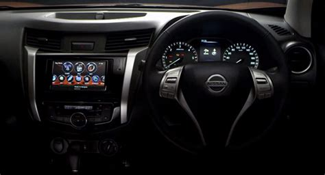 nissan navara 2015 interior nissan offers a glimpse of the 2015 frontier navara s