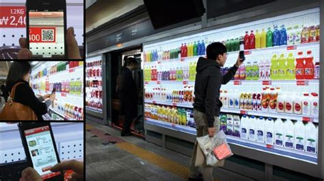 tesco mobile shop koreans embrace mobile shopping at stores in