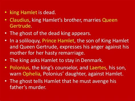 Outline The Major Themes In Hamlets Soliloquies by Hamlet Brief Summary