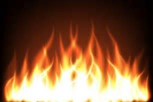 fiery flames dark background vector free download