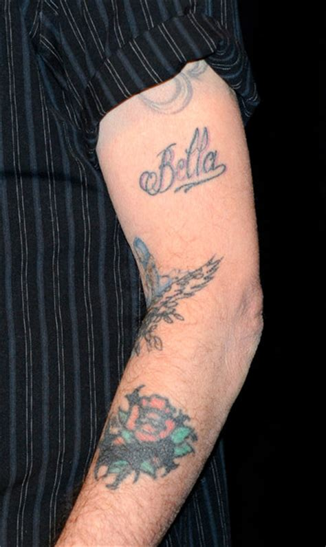 billy bob thornton tattoos billy bob thornton in showest 2010 day 4 zimbio