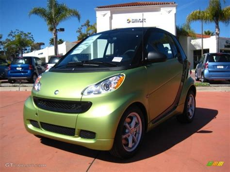 smart car green 2011 green matte smart fortwo coupe 46397148