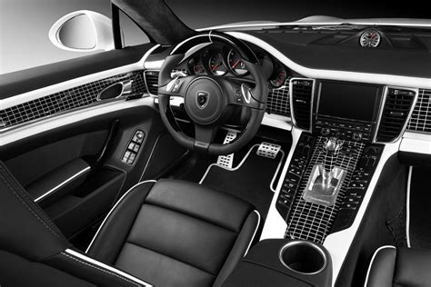 Porsche Panamera White Interior by Tuning Porsche Panamera Stingray White Adv 1 Interior