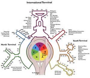 san francisco map with airport international terminal san francisco map