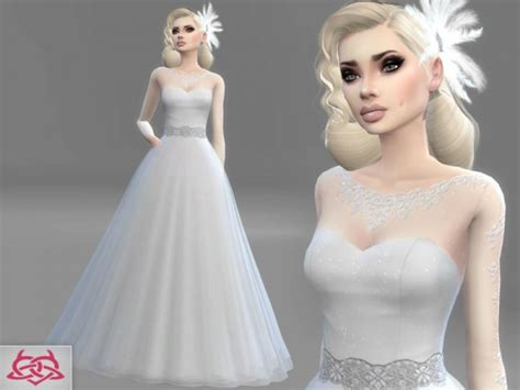Dress Big Salur Cc the sims resource wedding set 3 by colores urbanos sims 4 downloads