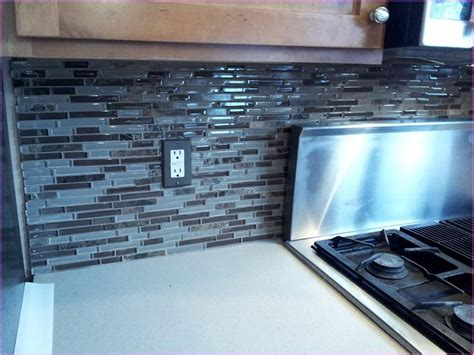 blue tile backsplash kitchen bold bright blue glass tile backsplash great home decor