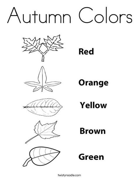 autumn coloring pages for preschoolers autumn colors coloring page twisty noodle