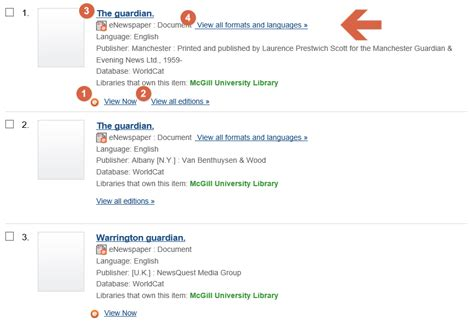 Tutorials Searching Proquest Historical Newspapers Single Page View Finding Newspapers Mcgill Library Mcgill