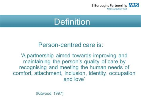 comfort care only definition person centered care and dementia ppt video online download
