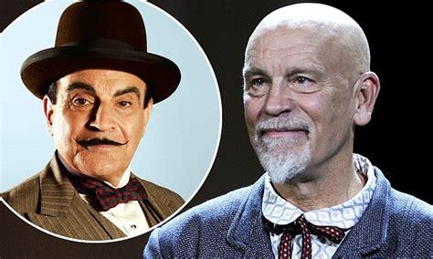 john malkovich as poirot john malkovich cast as hercule poirot in bbc s the abc murders