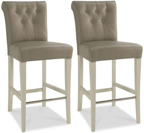 Upholstered Breakfast Bar Stools Buy Bentley Designs Hstead Soft Grey Bar Stool