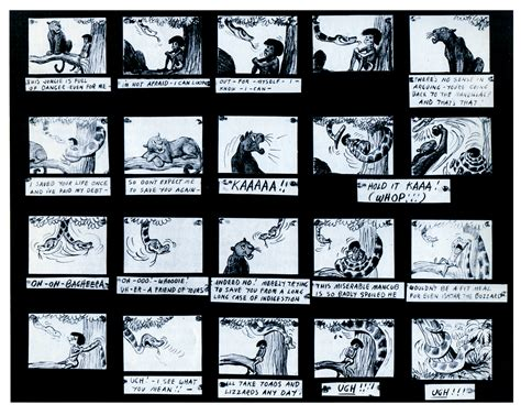 animation from concept to production books jungle book storyboard storyboards